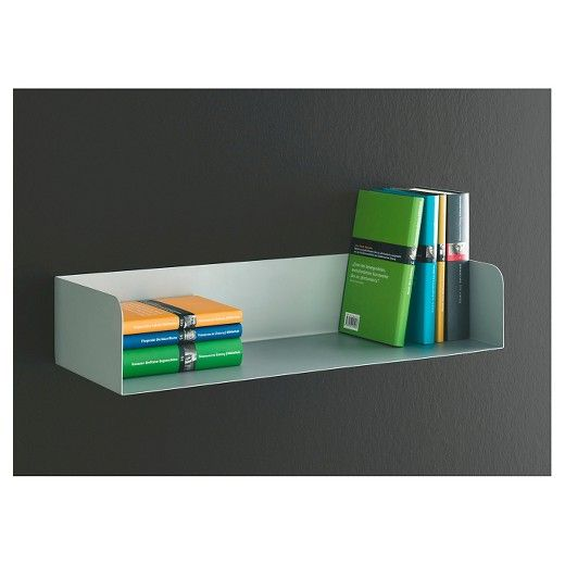 Target Floating Shelves Gorgeous Dolle Showcase Metal Book Shelf  White  Book Shelves Shelves And Design Inspiration