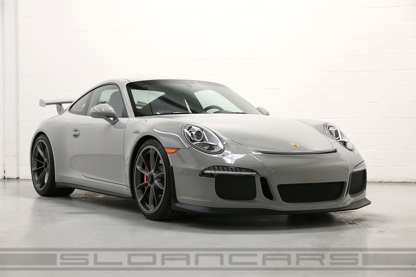 2015 Porsche Gt3 Paint To Sample Fashion Grey For Sale Porsche Gt3 Porsche 991 Gt3 Porsche