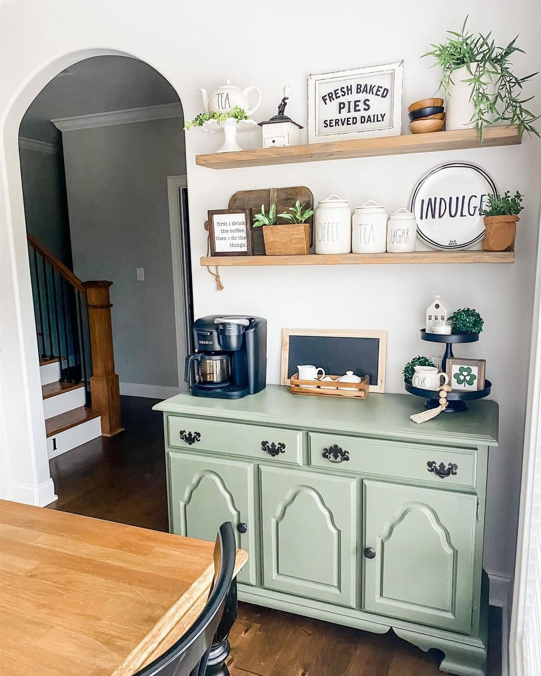 Home Coffee Bar Design Ideas: 50 DIY Coffee Bar Ideas To Try At Home In 2020