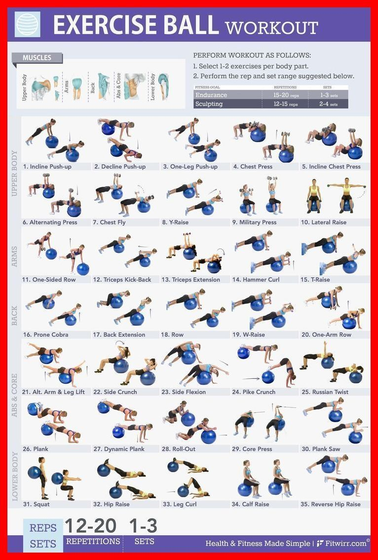 Exercises For Golfer – Improve Your Game With Golf Exercise | Exercise Ball Workouts For Golf | Golf...