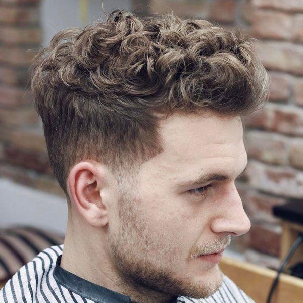 How To Get Curly Hair For Men Gaya Rambut Pria Gaya Rambut Bergelombang Rambut Pria