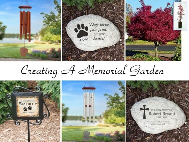 Ideas for creating a memorial garden MemorialGarden Creating a