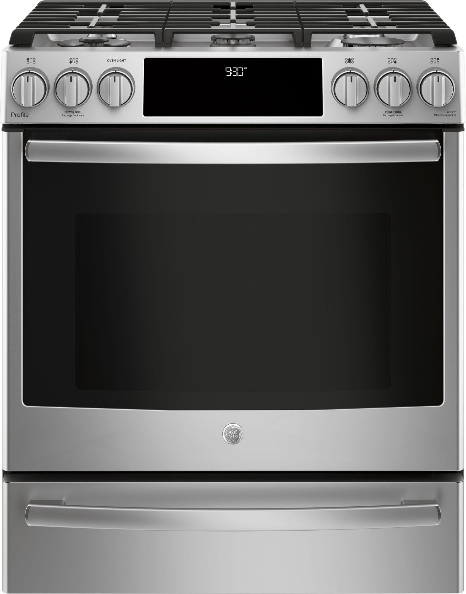 Ge Profile Pgs930selss 30 Slide In Gas Range Convection Self