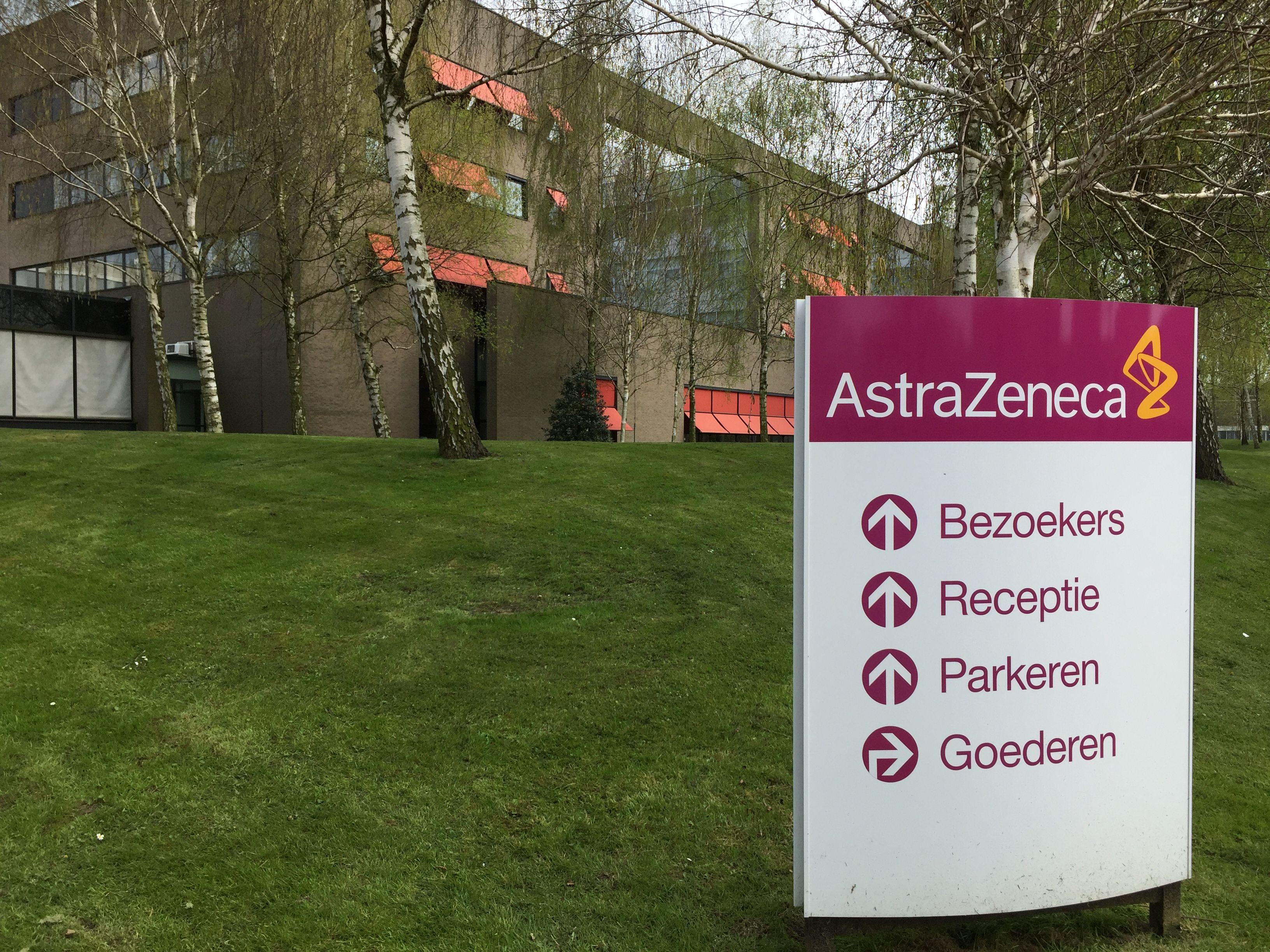 Kantoorgebouw Astrazeneca Receptie Gebouwen