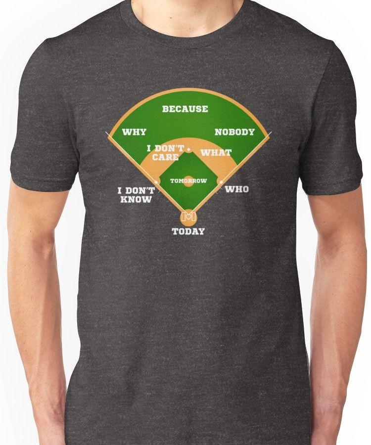 Who's on First? Baseball Diamond Fielding Card Slim Fit