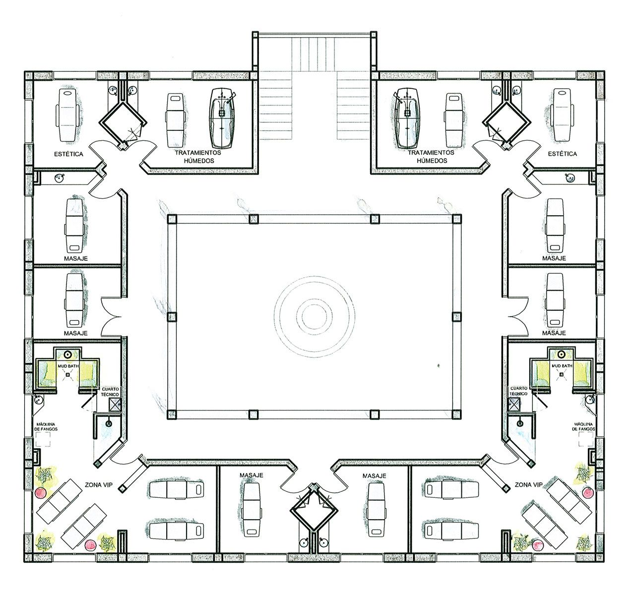 Proyectos destacados majestic elegance planos for Oficinas modernas planos