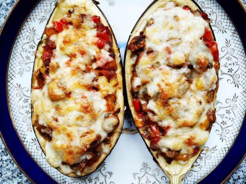 Baklazan Faszerowany Warzywami Jemy I Nie Tyjemy Kuchnia Wedlug Sylwii Recipes Eggplant Recipes Tasty