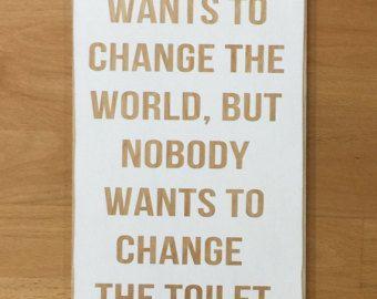 Funny Bathroom Signs Bathroom Sign Bathroom Humor By 2TreesStudios