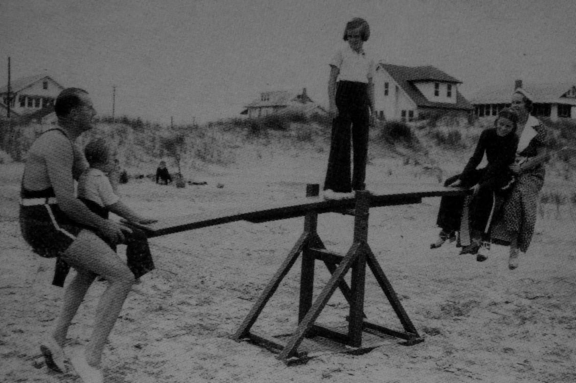 Ocean City Beach, NJ, 1937.