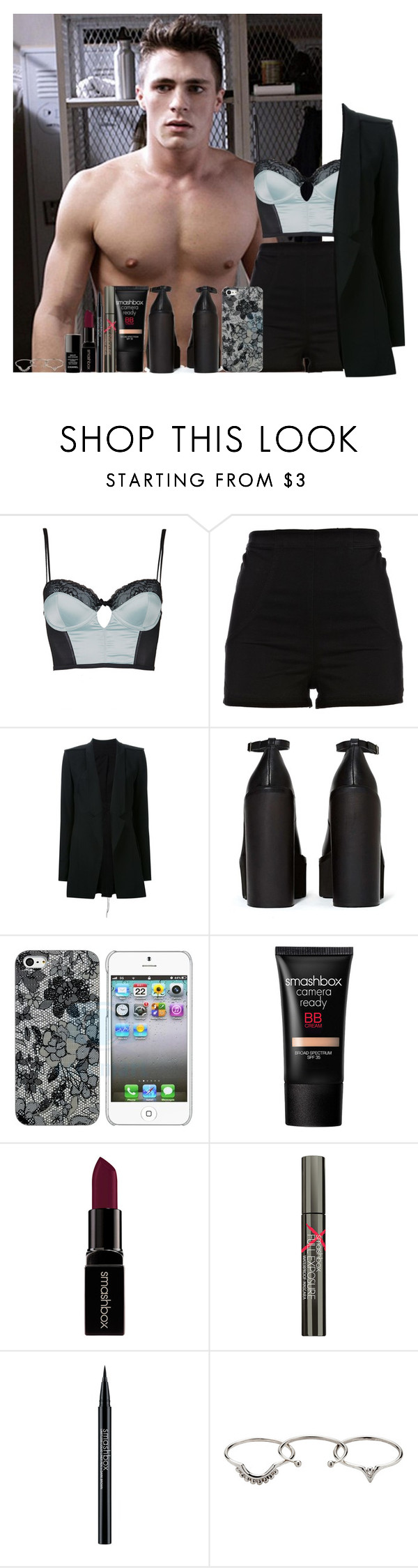 """""""#IHateSchool"""" by faanfic-1d ❤ liked on Polyvore featuring Topshop, River Island, Kitx, Jeffrey Campbell, Schutz, Smashbox, Zimmermann and Chanel"""