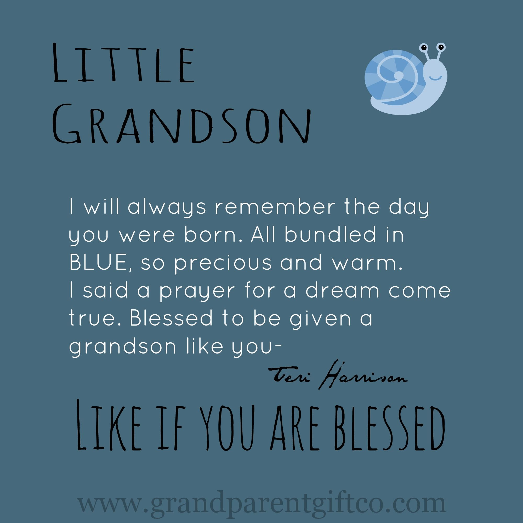 Oh If Little Grandson's Could Be Bottled- I Would Be Rich