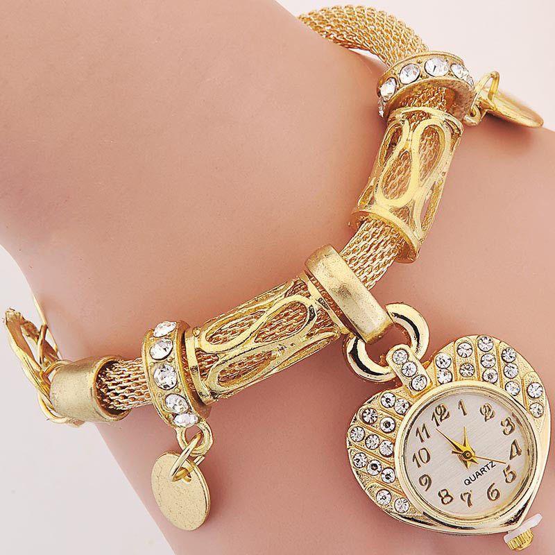 Bracelet Wrist Watch For Woman Silver Gold Bangle Band Crystal Lady Fashion Reloj Pulsera Reloj Pulsera Mujer Reloj Casio Dorado Mujer
