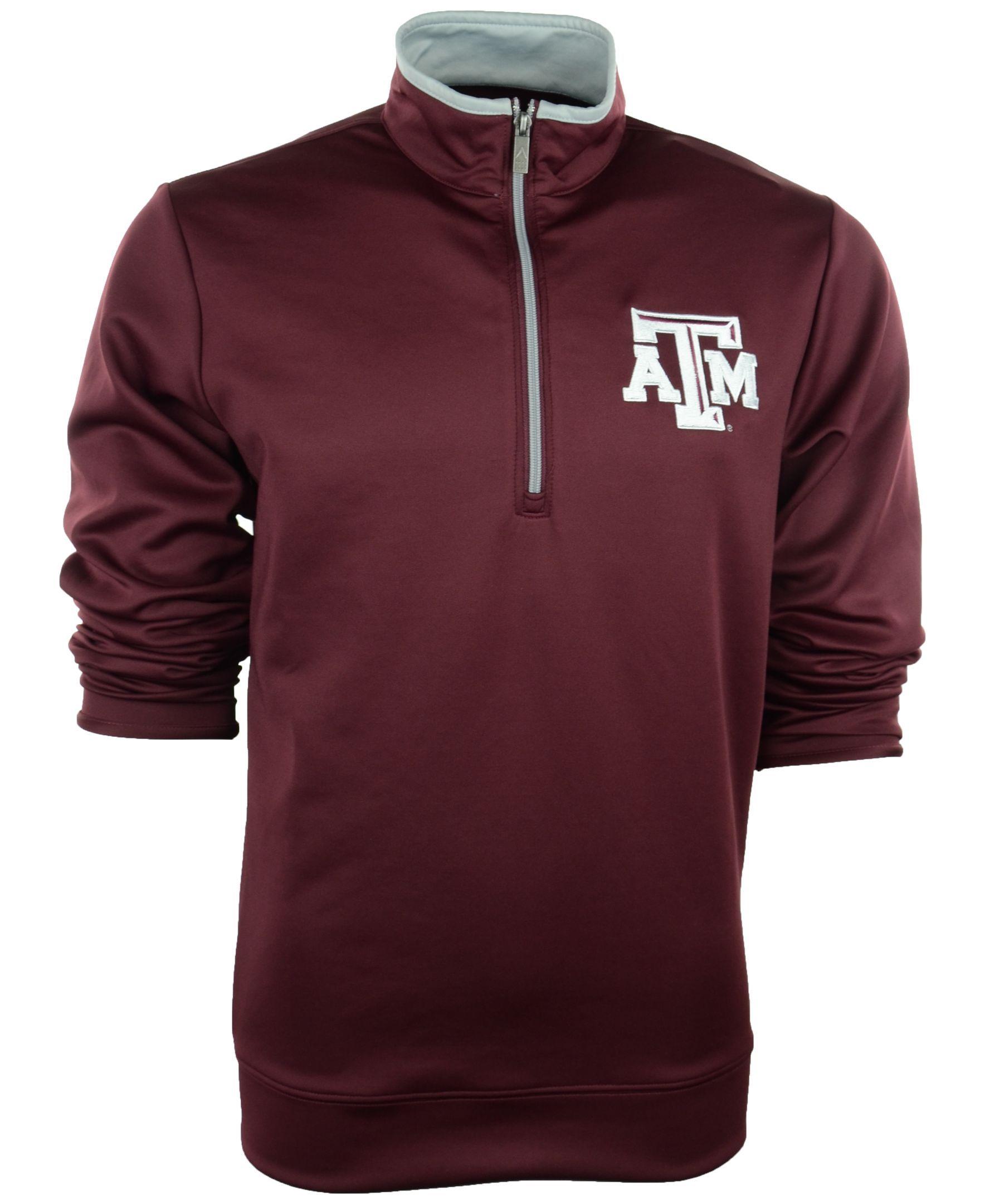 Antigua Men's Texas A&M Aggies Quarter-Zip Pullover