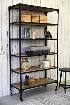 industriele boekenkast kast industrieel rek keukenkast kasten boekenkasten marktplaatsnl