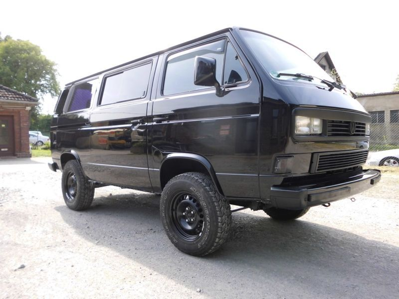 volkswagen multivan syncro t3 allrad 2 8 l v6 audi motor. Black Bedroom Furniture Sets. Home Design Ideas