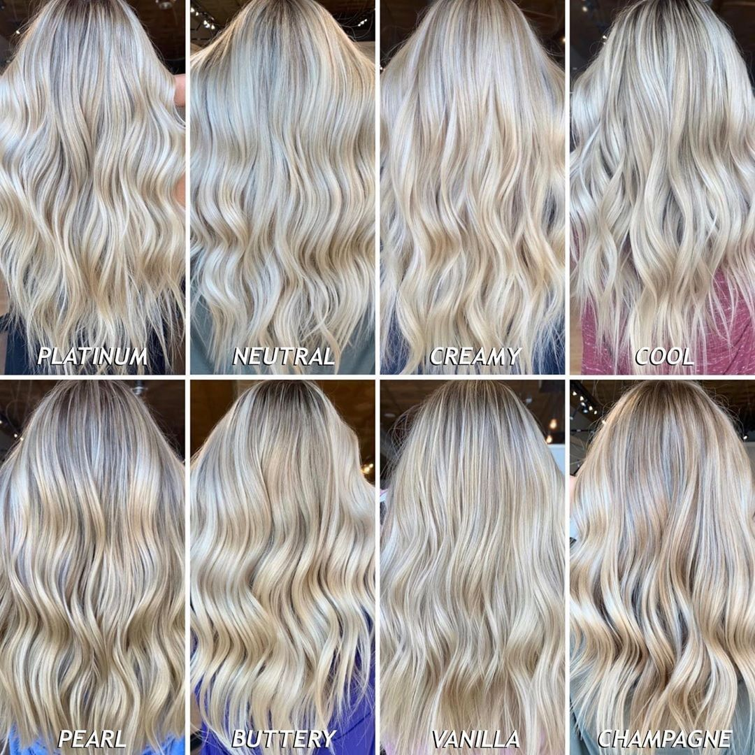 The Best Hair Color Chart With All Shades Of Blonde Brown Red Black Blonde Hair Color Chart Hair Color Chart Blonde Color Chart