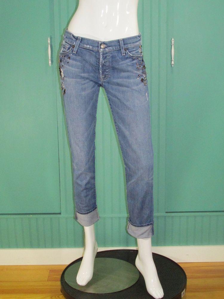 7 For All Mankind Josefina Skinny Boyfriend Jeans 7forallmankind