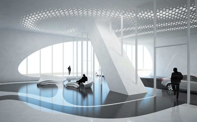 Zaha hadid 39 s one thousand museum brings boldness to the for Interior design zaha hadid