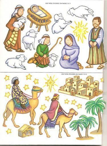 Todorecortables Suenos De Papel Todo Navidad Recortables Papa Noel Portal De Belen Para Recortar Cajitas Nav Belenes Navidad Ninos Pintura En Tela Navidena