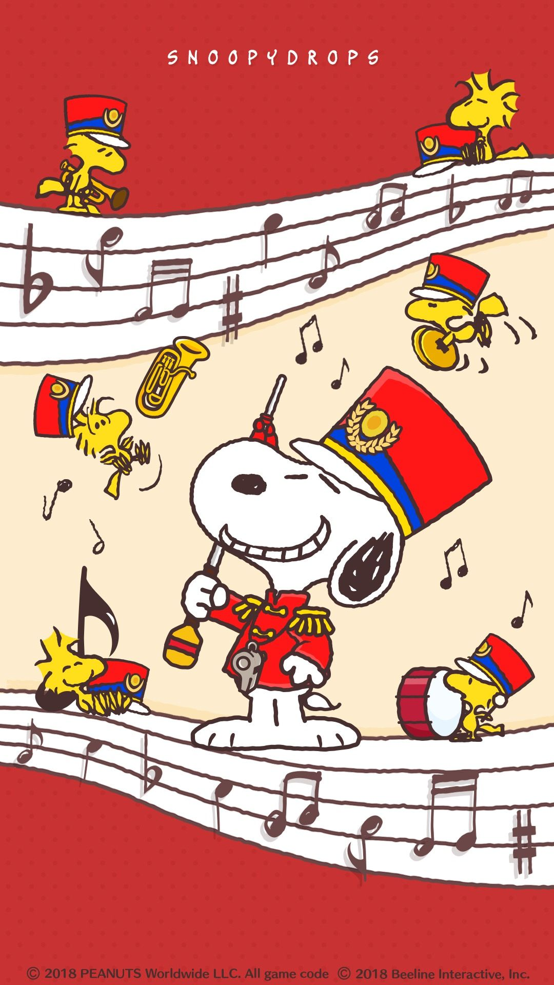 Snoopy スヌーピー マーチングバンド スヌーピーの壁紙
