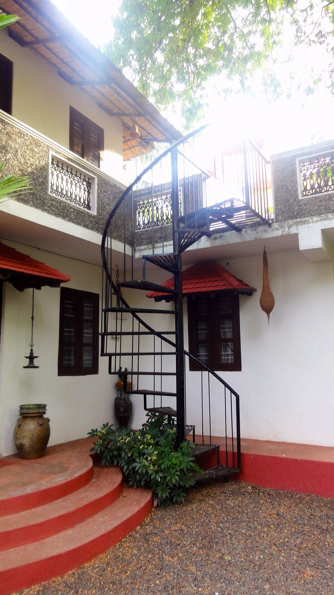 Heritage Home Kochi India Kerala House Design House | Interior Staircase Designs For Indian Homes