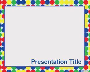 birthday card powerpoint template | school technology | pinterest, Modern powerpoint