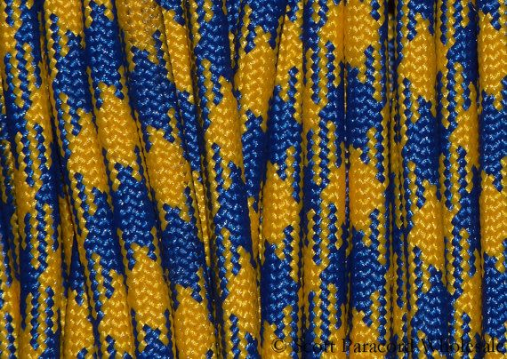 Exclusive To Scott Paracord Wholesale The New Blue And Gold