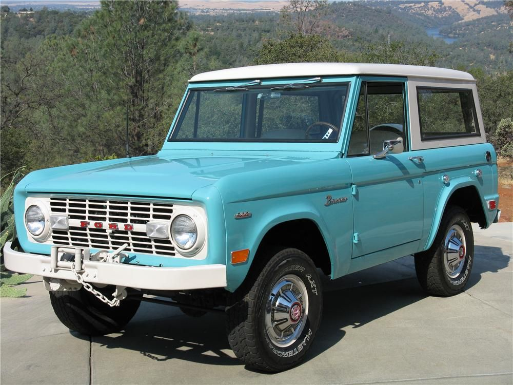 1969 Ford Bronco 4x4 Barrett Jackson Auction Company Ford Bronco Bronco Classic Bronco