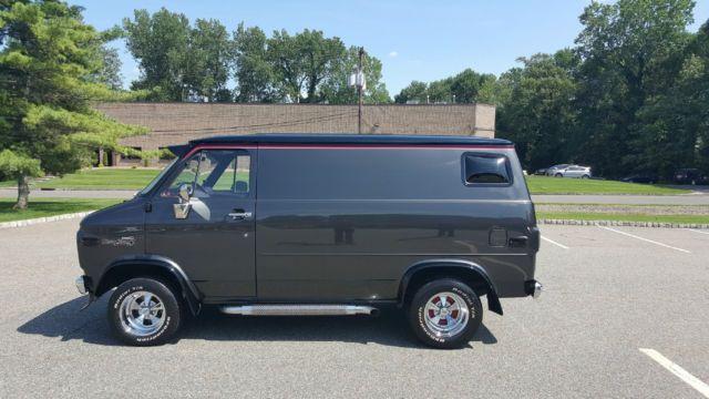 1977 Chevy G10 Shorty Restomod Custom Hot Rod 1 Of A Kind Show Van Custom Vans For Sale Chevy Van Chevrolet Van