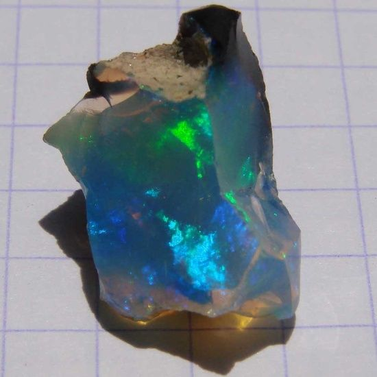 Rough Ethiopian Opal.....fabulous to find a natural opal in this size....