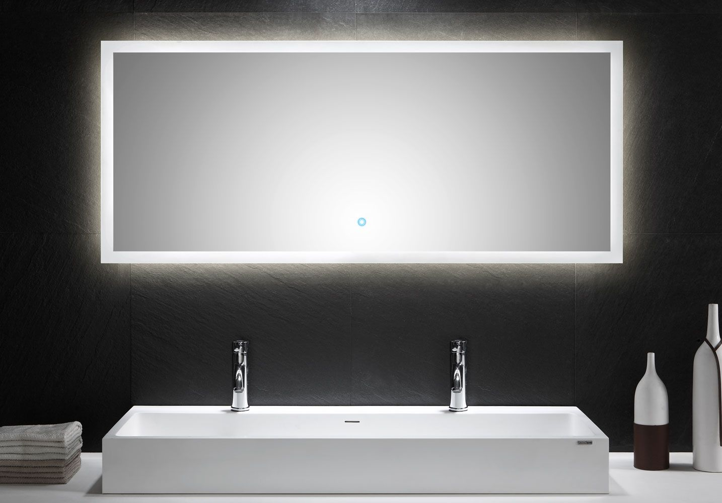 Led Spiegel 1400x600mm Masse B H T 140 60 3 2 Cm Leuchtmittel 34 Watt 3024 Lum Farbtemperatur Ist Wa Led Spiegel Badezimmerspiegel Spiegel Mit Beleuchtung
