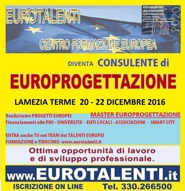 europrogettazione a lamezia terme