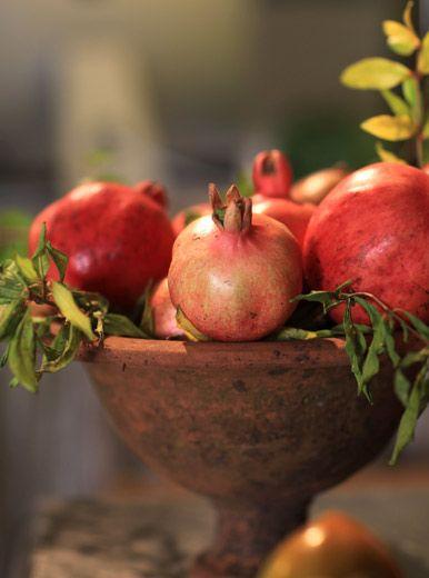 Pomegranates Centerpiece