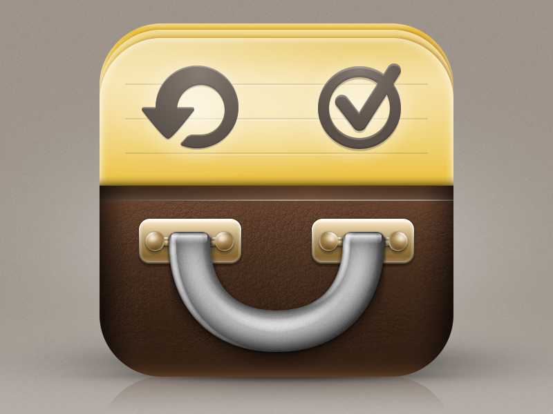 Suitcases App Icon redesign app icon Phyllip Price ios