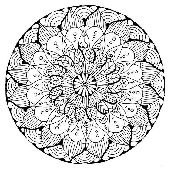 FREE Mandala Coloring Page Download From Alisa Burke
