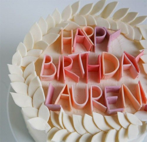 Fun Birthday Cake. @Jenna Nelson Rae you should try this.