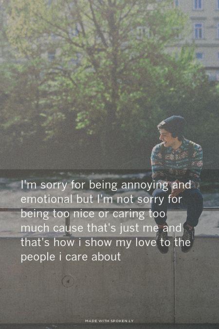 Psychological Im Sorry Words