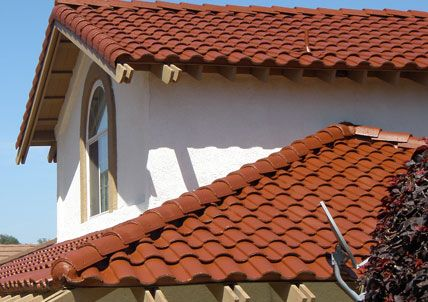 Spanish style concrete roofing interior design school for Spanish style roof tiles
