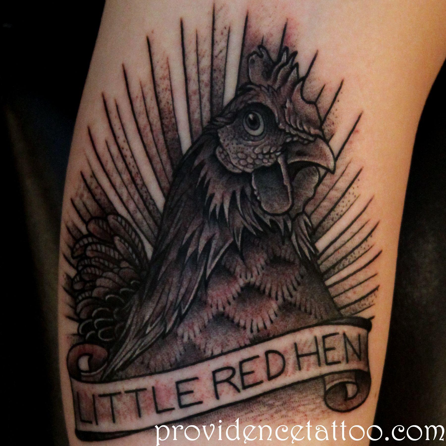 Hen Tattoo By Dennis M Del Prete #tattoo #hen #chicken