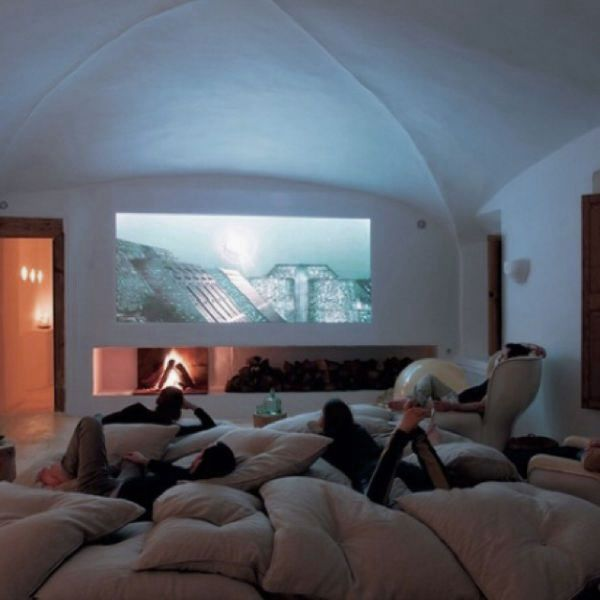 Cool Comfy Couches cool media room design with comfort sofa | decoração | pinterest