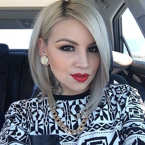30+ Best Angled Bob Hairstyles   Bob Hairstyles 2015 - Short Hairstyles for Women
