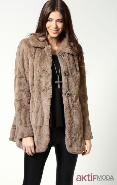 Bayan Kurklu Kaban Modelleri Zara Manto Moda Stilleri Kadin Ceketleri
