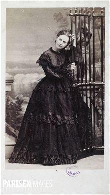 Carte De Visite Marguerite Bellanger Photographie DAndre Adolphe Eugene Disderi 1819