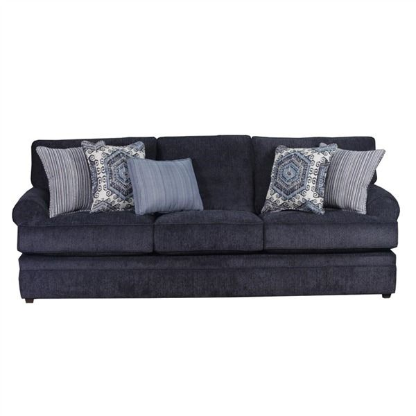 Leather Sectional Sofa Simmons Bellamy Indigo Sofa