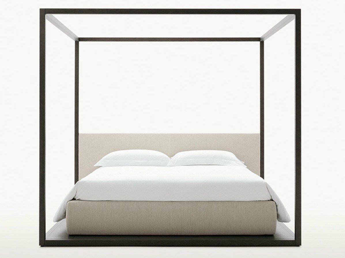 Storage bed alcova by maxalto a brand of b b italia spa for B b italia spa