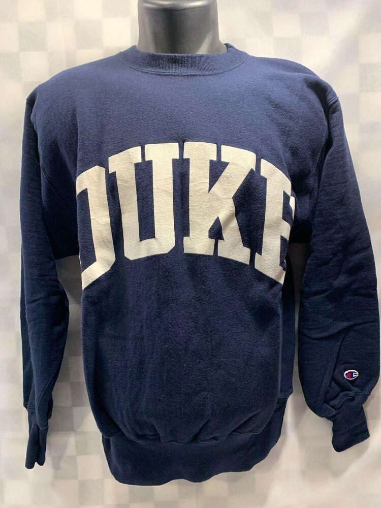 DUKE Blue Devils Champion Reverse Weave Sweat Shirt Men's
