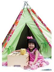 Adorable DIY tent for the kids!