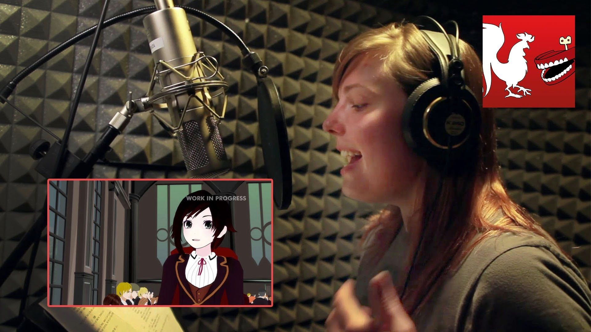 #RWBY production video with descriptions of anime, motion and capture, other voice actors and of course #JessicaNigri