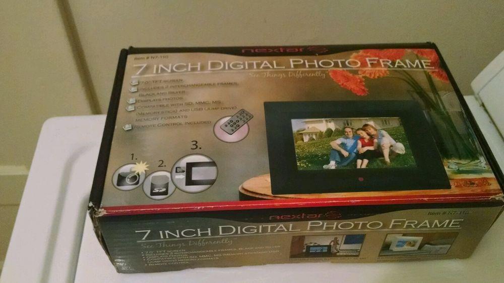 Nextar N7 105 7 Digital Picture Frame 7 Inch Nextar Stuff To