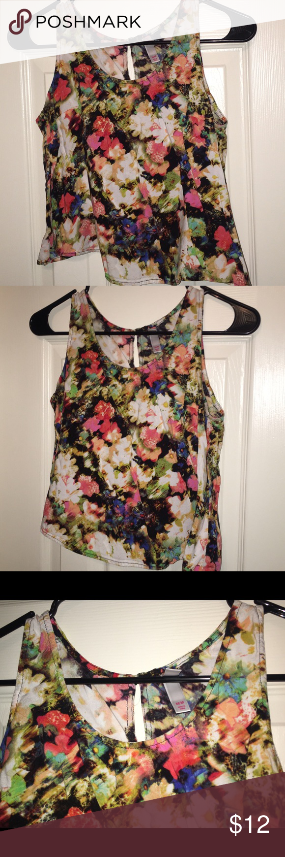 Multi-color Floral Tank Multi-Color Floral Tank Tops Tank Tops